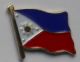 Philippines Country Flag Enamel Pin Badge